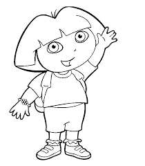 dora printable coloring pages dora printable coloring pages dora2