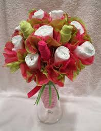 Diaper Centerpiece For Baby Shower by Best 20 Diaper Flower Bouquets Ideas On Pinterest Diaper