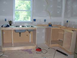 How Wide Are Kitchen Cabinets by How To Build Kitchen Cabinets Free Plans Enjoyable Inspiration 27
