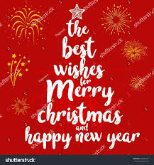 best wishes merry happy new stock vector 748862281