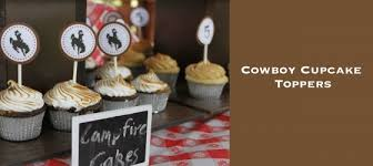 cowboy cake topper free birthday printables cowboy cupcake toppers jolly