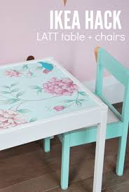 Ikea Hack Chairs by Ikea Hack Latt Table And Chairs For Kids Diy Tutorial Kid