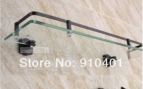 Bronze Bathroom Shelves Rubbed Bronze Bathroom Shelf My Web Value