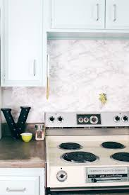 contact paper diy marble contact paper backsplash a joyful riot