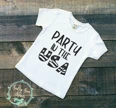 party in the usa kid u0027s t shirt 4th of july t shirt