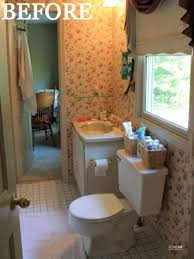 Bathroom Makeovers Before And After Pictures - bathroom before and after budget bathroom makeover
