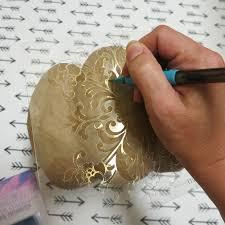 Paper Mache Pumpkin Diy Paper Mache Pumpkin Luminary Project Darice