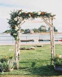 wedding arbor used 51 beautiful chuppahs from weddings martha stewart weddings