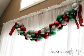 ornament garland s crafty