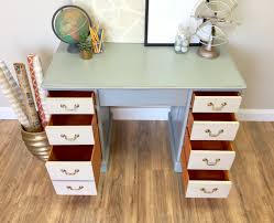 Wood Office Furniture vintage wood desk office desk furniture vintage home