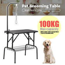 large dog grooming table 40 dog grooming table pet supplies large foldable cat adjustable
