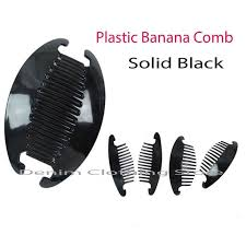 banana comb 3 12 set 24pc jumbo interlocking jaw hair comb banana clip