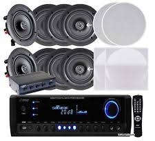 Infinity In Ceiling Speakers by In Ceiling In Wall Home Speakers And Subwoofers Ebay