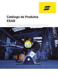 apostila esab catalogo equipamentos pdf