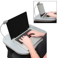 Cushion Laptop Desk by New Portable Cushion Lap Desk U0026 Reading Light Laptop Homework