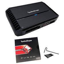 rockford fosgate punch 801s 2 channel car amp ebay