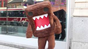 domo halloween costume dance domo in toronto youtube