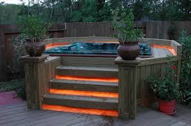 deck step lighting ideas home u0026 gardens geek