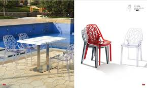 Stackable Plastic Patio Chairs Plastic Outdoor Forest Chair Stackable Event Chair Leisuremod