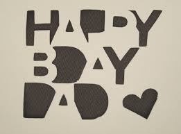 silhouette tutorial happy birthday dad card