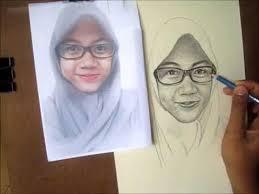 tutorial menggambar orang dengan pensil cara menggambar wajah dengan pensil step by step youtube
