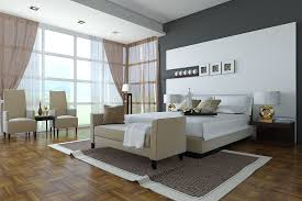 Design Ideas For Black Upholstered Headboard Interior Classy Ideas Using Parquet Flooring And Upholstered