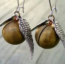 beautiful earrings for any harry potter fans chic