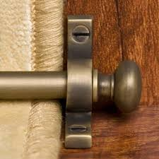 solid brass classic stair rod set hardware