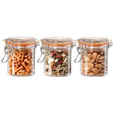 100 kitchen glass canisters with lids luvele vacuum glass