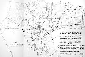 newark map 1911 map of ethnicities in newark imgur