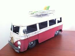 volkswagen bus drawing vw camper van tin metal toy car kombi split screen bus