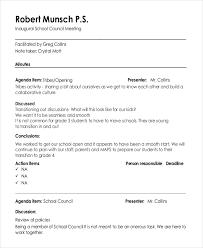 13 informal minutes template u2013 free sample example format