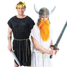 mens womens roman greek viking toga tunic book week fancy dress