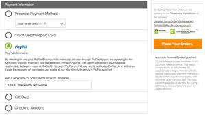buy e gift cards with checking account add paypal to my godaddy account account management godaddy