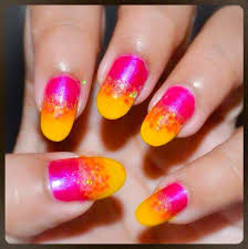 how to do ombre nails without sponge summer colors on nails