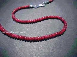 ruby bead necklace images Ruby necklaces genuine ruby necklaces jpg
