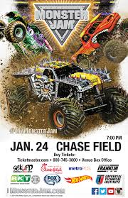 monster truck show ticket prices monster jam 98 kupd arizona s real rock