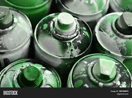 Spray Cans Paint - used spray cans paint close dirty image u0026 photo bigstock