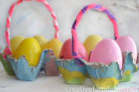 easter egg baskets to make easter baskets crafts gallery of strawberry easter basket craft