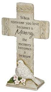 sympathy gift memory peace cross sympathy gift
