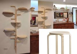 Shelves For Cats by Cat Tree By Frosta X Walyou