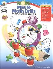 more minute math drills product browse rainbow resource center
