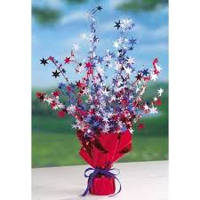 festive red white and blue centerpiece projects to try