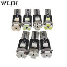 dashboard led light bulbs 7 colors t5 light led l car led 74 73 car dash light gauge dash