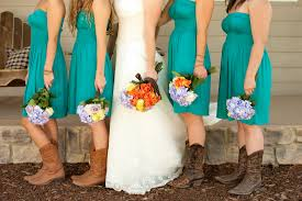 dress to wear with cowboy boots to a wedding
