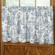 Toile Window Valances Victoria Park Toile Window Treatments
