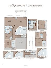 sycamore home plan by gehan homes in the commons at rowe lane