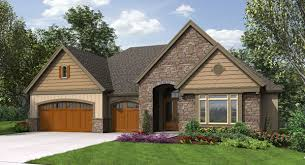 craftsman house plans with walkout basement craftsman house plan with finished daylight basement dfd house plans