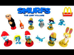 2017 mcdonald u0027s smurfs happy meal toys busy books lost