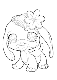 print u0026 download littlest pet shop coloring pages monkey